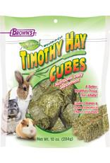 F.M. BROWNS INC - PET TIMOTHY HAY CUBE 10oz