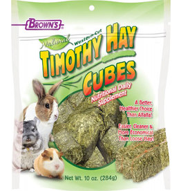 F.M. BROWNS INC - PET TIMOTHY HAY CUBE 10oz