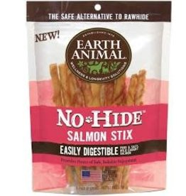 Earth Animal Earth No Hide Salmon Stix 10pk
