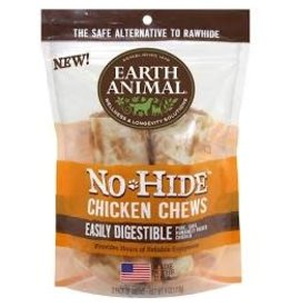 "Earth Animal Earth No-Hide Chk Chw 4"" 2pk"
