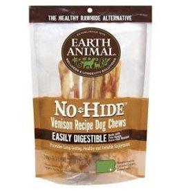 "Earth Animal Earth No Hide Venison Chews 7"" 2 Pack"