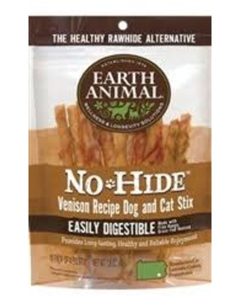 Earth Animal Earth No Hide Venison Chew Stix 10pk
