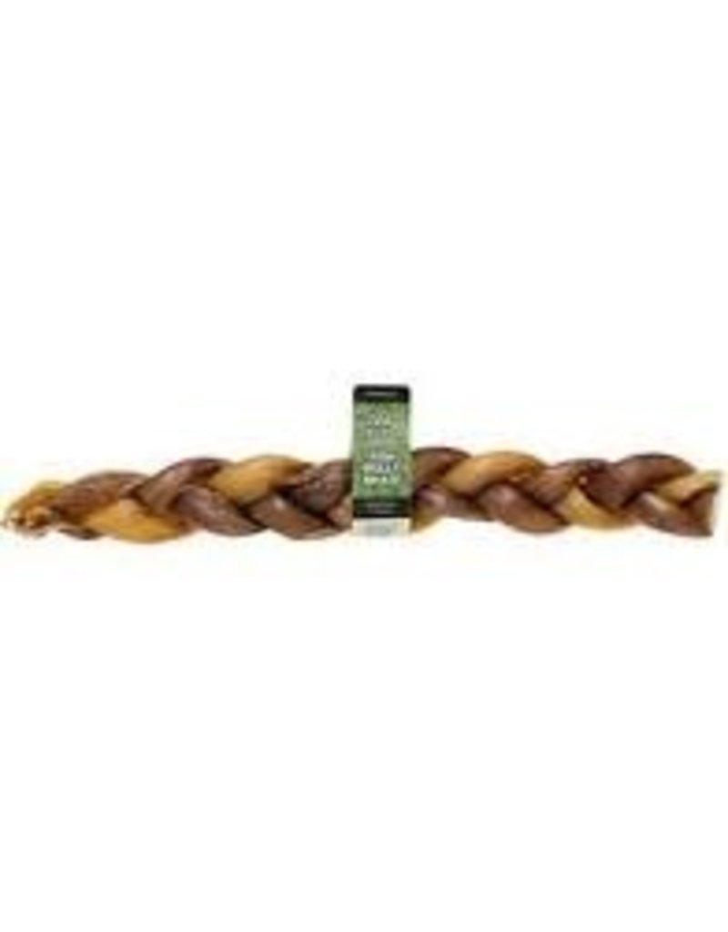 REDBARN PET PRODUCTS INC BRAIDED BULLY STICK 12IN     25