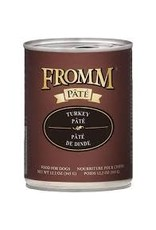 FROMM FAMILY FOODS LLC Fromm 12.2 oz Dog Can Gold  Turkey Pate GF 12/CS