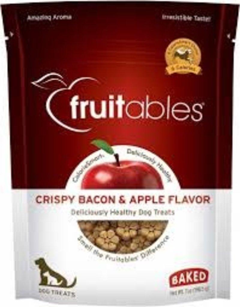 Fruitables Fruitables 7 oz Dog Crispy Bacon & Apple Treat EA