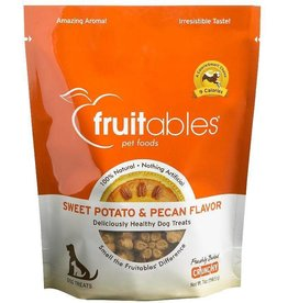 Fruitables Fruitables 7 oz Dog Sweet Potato & Pecan Treat EA