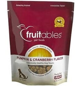 Fruitables Fruitables 7 oz Dog Pumpkin & Cranberry Treat EA