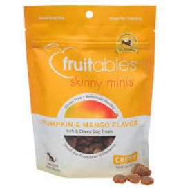 Fruitables Fruitables 5 oz Dog Pumpkin & Mango Skinny Minis Treat EA