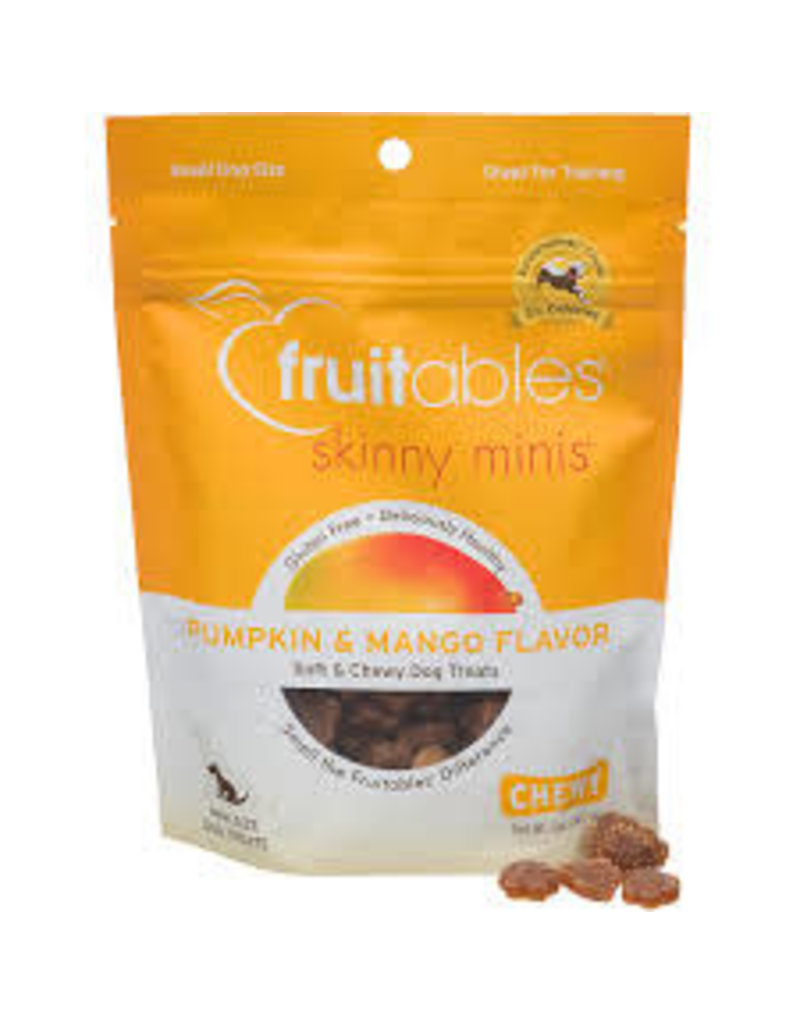 Fruitables Fruitables 5 oz Dog Pumpkin & Mango Skinny Minis Treat EA