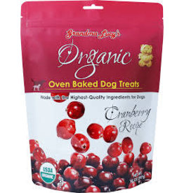 GRANDMA LUCY'S Grandma Lucy 14 oz Dog Organic Cranberry Treat EA