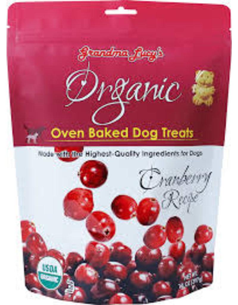 GRANDMA LUCY'S Grandma Lucy 14 oz Dog Organic Cranberry Treat EA