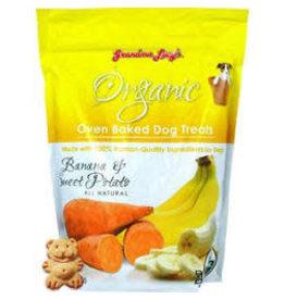 GRANDMA LUCY'S Grandma Lucy 14 oz Dog Organic Baked Banana & Potato Treat EA