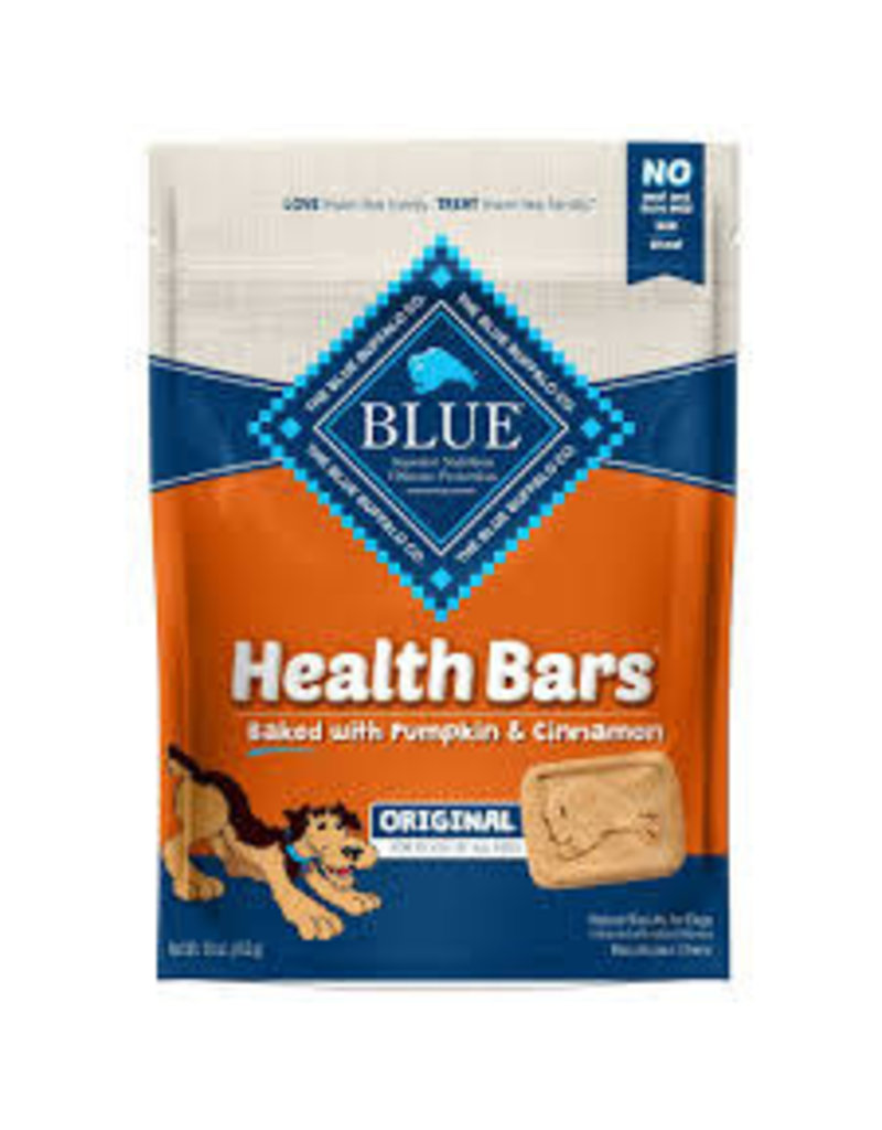 BLUE BUFFALO COMPANY BLUE BUFFALO 16OZ PUMPKIN/CINNAMON HEALTH BAR