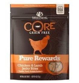 WELLNESS Wellness 4 oz Dog Pure Rewards  Chicken & Lamb Jerky GF