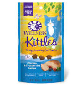 WELLPET LLC Wellness 2 oz Cat Kittles Treat Chicken & Cranberries EA