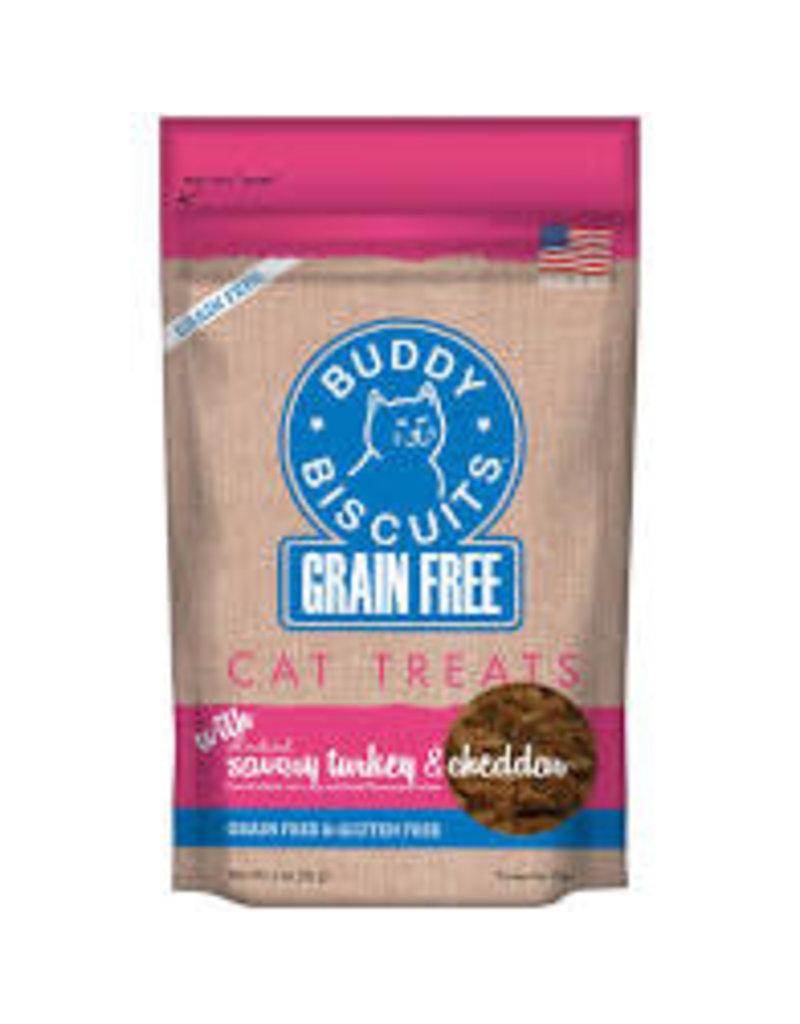 CLOUDSTR-WHITEBRIDGE PET Buddy Biscuits Grain Free turkey&chedder treats 3oz