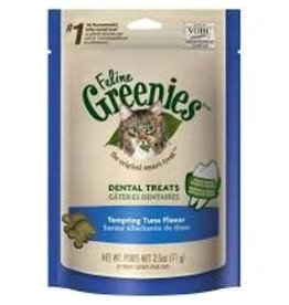 GREENIES/NUTRO GREENIES dental treats tuna flavor 2.5oz