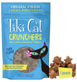 TIKI Tiki Cat Crunchers tuna flavor 2oz
