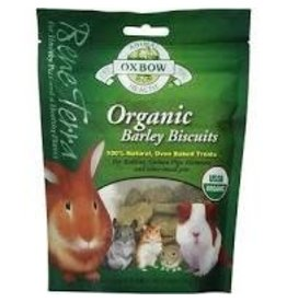 OXBOW PET PRODUCTS Oxbow Organic barley biscuits 2.65oz