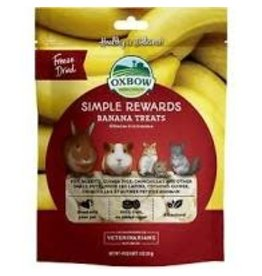 OXBOW PET PRODUCTS Oxbow simple rewards banana 1 OZ