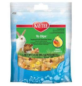 KAYTEE PRODUCTS INC Kaytee Yo Dips tropical fruit 3.5oz