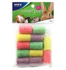 Ware Pet Products Ware Critter Pops Small 12pcs