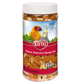 KAYTEE PRODUCTS INC FIESTA PA/PNUT/MA JAR AV 10OZ 6