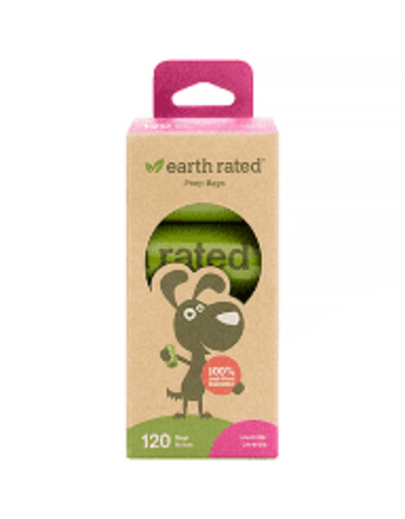 Earth Rated Earth Rated Poop Bags Refill 8 rolls/BX 120 ct Lav Scent