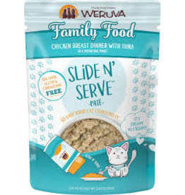 Weruva Weruva slide/serve family food  2.8z