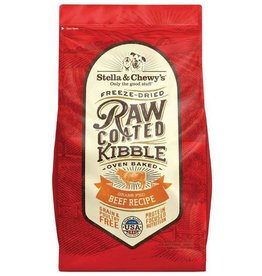 STELLA & CHEWY'S / FRZ DRIED SC BEEF 22lbs. Raw Coated Kibble