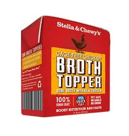 STELLA AND CHEWY'S S&C BROTH TOPPER CKN PCH 12/11Z