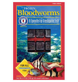SAN FRANCISCO BAY BRAND BLOODWORMS CUBES 3.5 CUBES