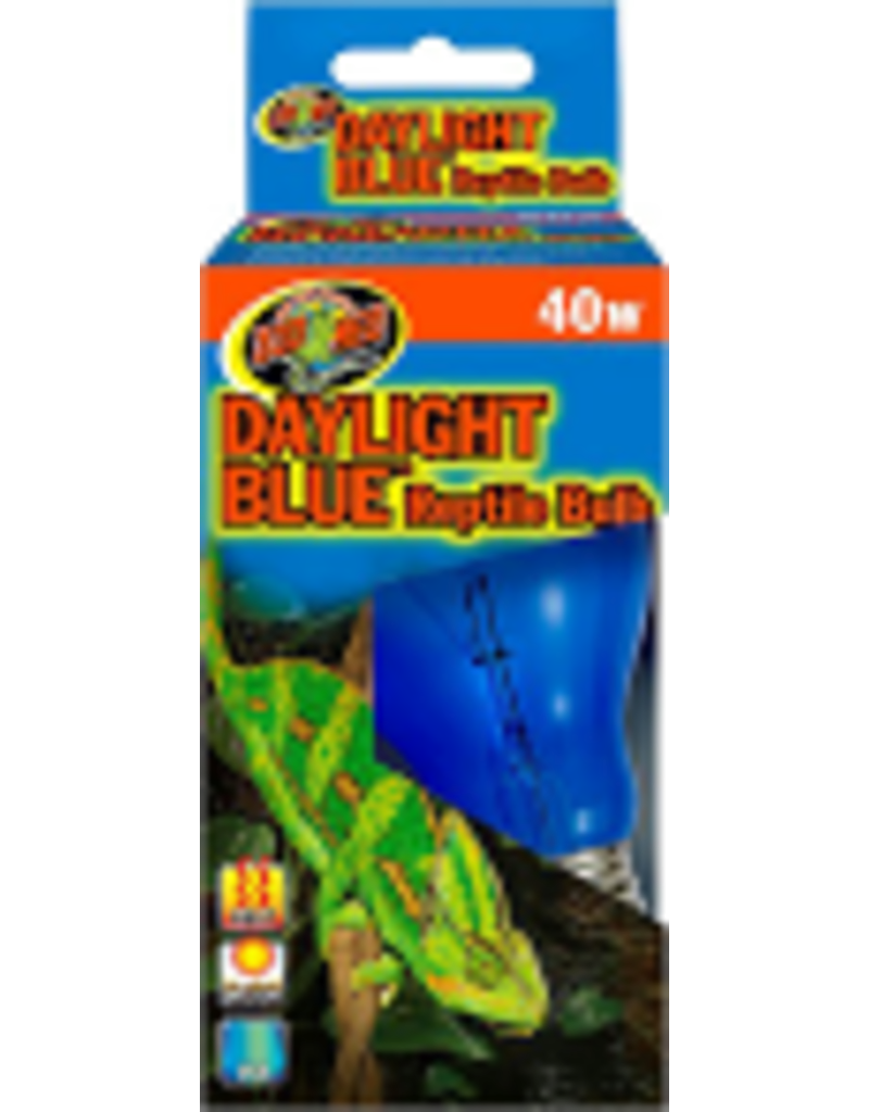 ZOO MED LABORATORIES INC DAYLIGHT BLUE REPTILE BULB 40WT