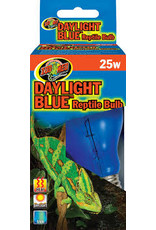 ZOO MED LABORATORIES INC DAYLIGHT BLUE REPTILE BULB 25W