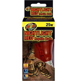 ZOO MED LABORATORIES INC NIGHTLITE RED REPTILE BULB 40W