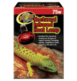 ZOO MED Zoo-Med Nocturnal Infrared Heat Lamp 75W