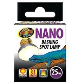 ZOO MED LABORATORIES INC NANO BASKING SPOT LAMP 25W 12