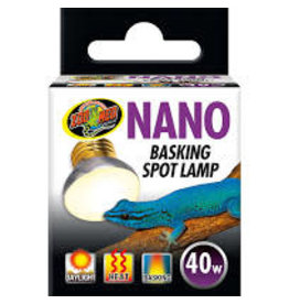 ZOO MED LABORATORIES INC NANO BASKING SPOT LAMP 40W
