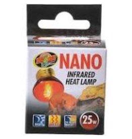 ZOO MED LABORATORIES INC NANO INFRARED HEAT LAMP 25W 12