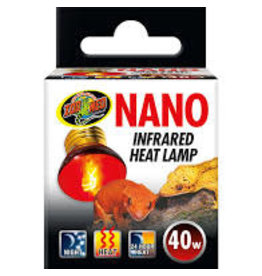 ZOO MED LABORATORIES INC NANO INFRARED HEAT LAMP 40W