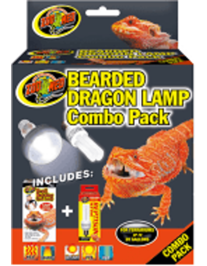 ZOO MED LABORATORIES INC BEARDED DRAGON LAMP COMBO PK
