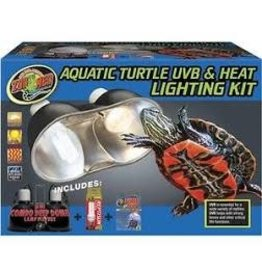 ZOO MED LABS AQ TURTLE UVB/HEAT LIGHT KIT