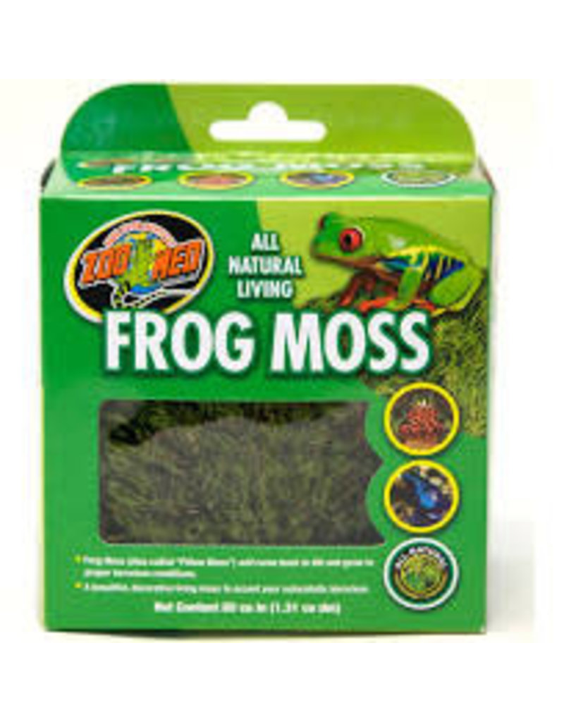 ZOO MED LABS All Natural Frog Moss 80 cu in