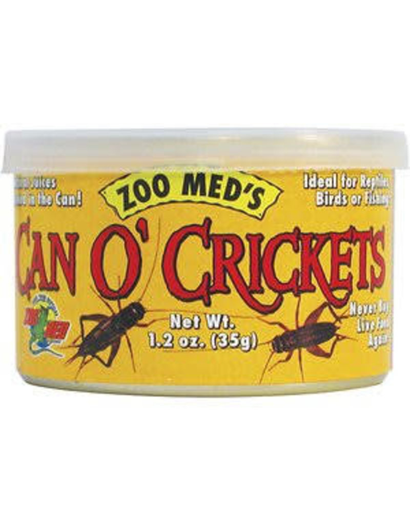 ZOO MED LABS CAN O' CRICKETS 1.24 OZ