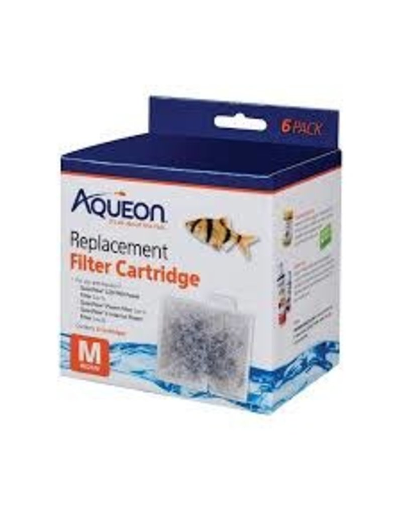 AQUEON PRODUCTS-SUPPLIES AQUEON MEDIUM CARTRIDGE 6 PACK