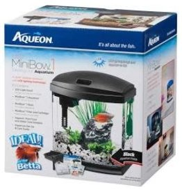 AQUEON LED MINI BOW KIT 1 GAL BLACK