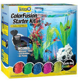 TETRA HALF MOON BUBBLING LED KIT 3GAL