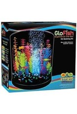 GLO-FISH GLOFISH LED HALF MOON BUBBELR KIT 3GAL