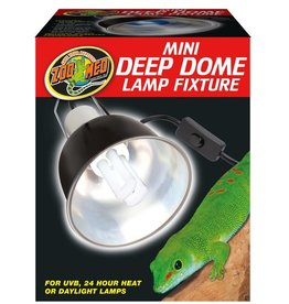 ZOO MED LABS REPTI MINI DEEP DOME CLAMP LAMP