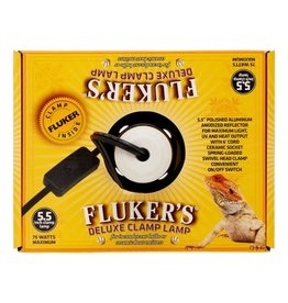 "FLUKERS 5.5"" CERAMIC REPTA-CLAMP LAMP"